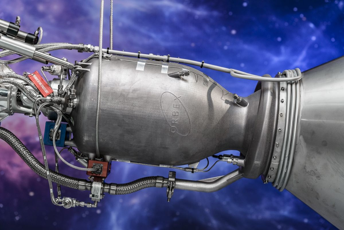Orbex reveals #Prime, the completed stage 2 rocket and the world's most efficient #smallsat launcher. It includes the world's largest 3D printed rocket engine and designed to run on bio-propane, a #clean, #renewable energy source