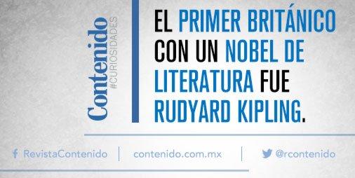A la fecha se trata del ganador del #NobelDeLiteratura más joven  #Curiosidades #RudyardKipling