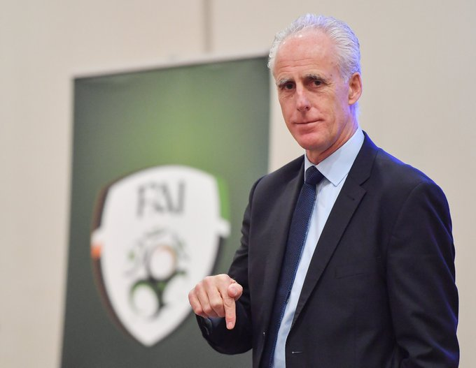 Happy Birthday, Mick McCarthy  .   The Ireland manager turns 60 today
