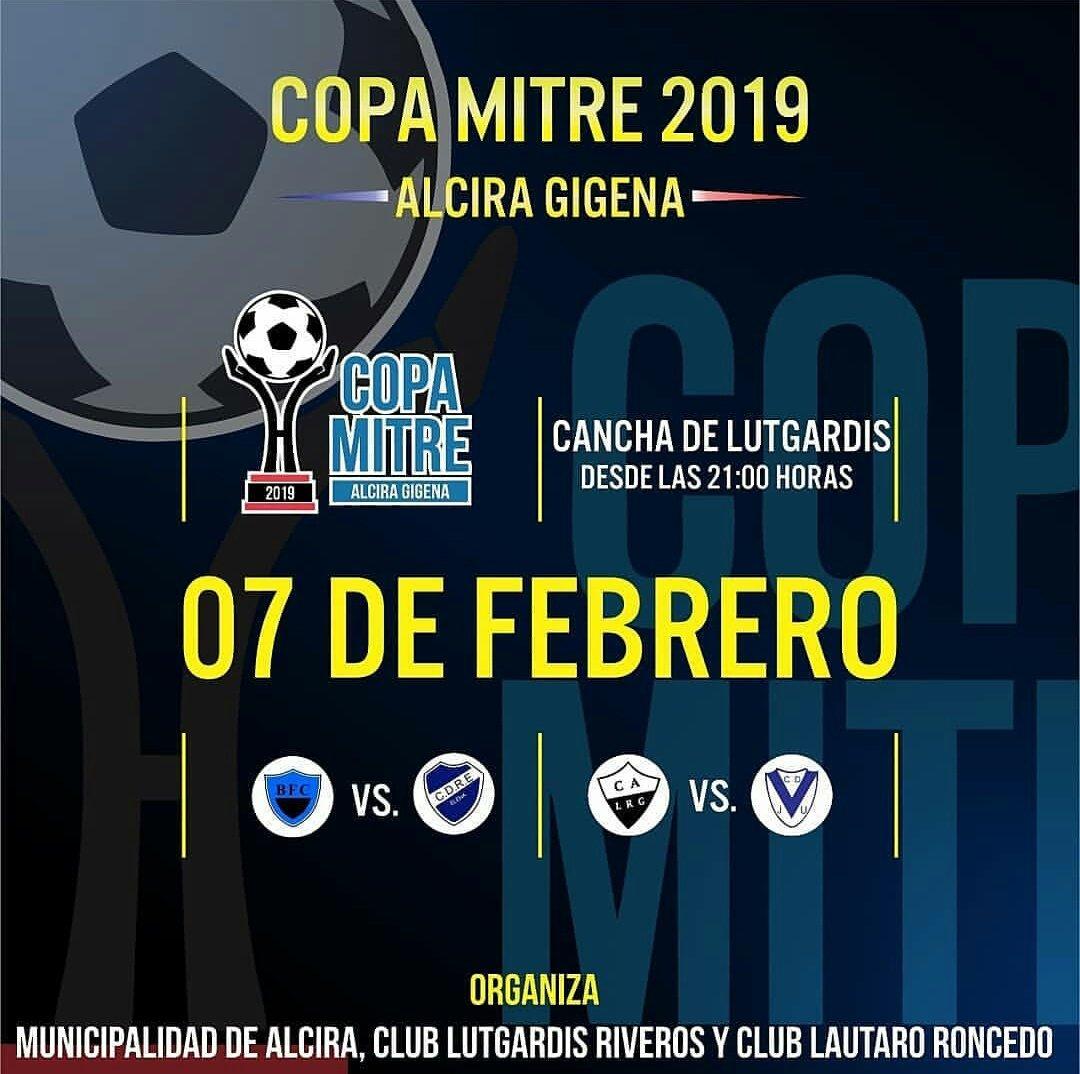 #CopaMitre2019 En el Estadio Eduardo Omar Saporiti vamos a enfrentar a #JuvUnida de Cnel Baigorria por la 1° fecha de la Zona 2 a partir de las 23hs.  A las 21, se enfrentarán @BelgranoBFC y @CDRElenense por la Zona 1.  ¡Te esperamos!  #DaleIngles◼◻◼