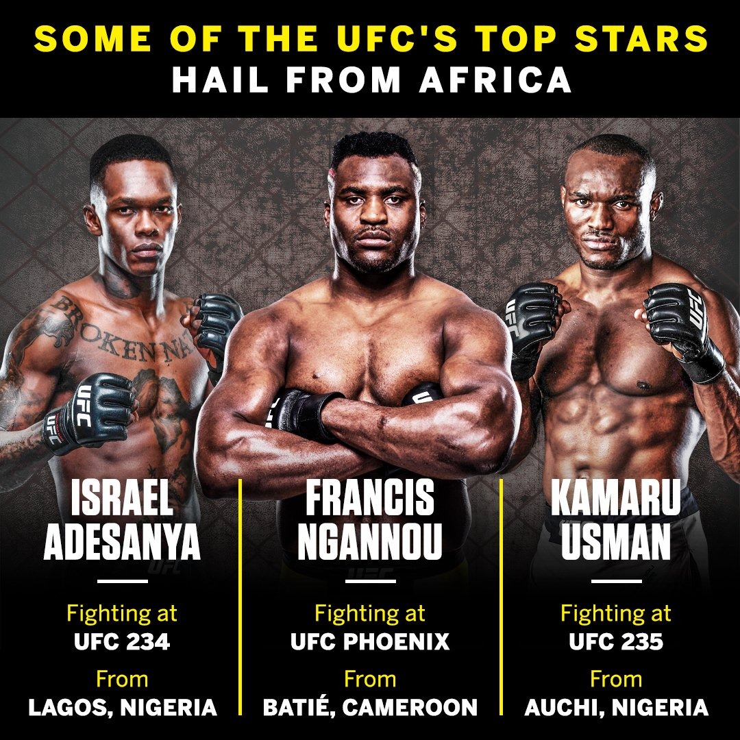 Could UFC Africa be on the horizon? Israel Adesanya claims it's 'already in the works.'  📰 http://es.pn/2UEZ8Sh