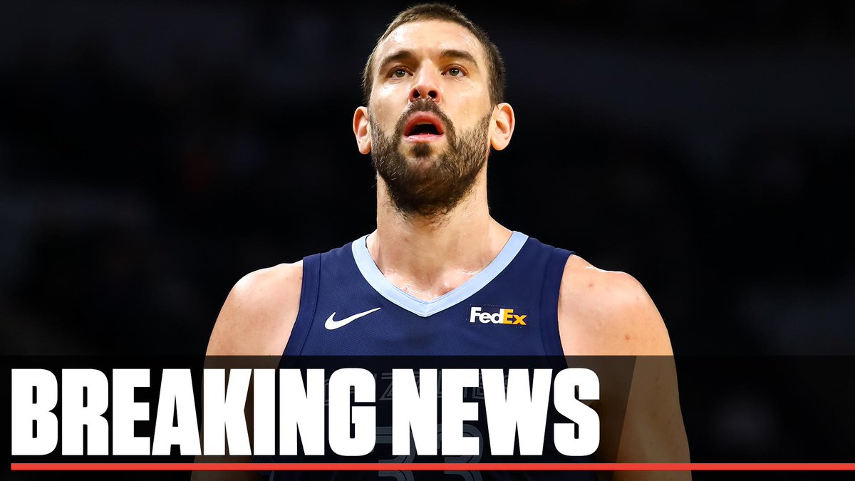 Breaking: The Grizzlies are finalizing a trade to send Marc Gasol to the Raptors, league sources tell @wojespn.