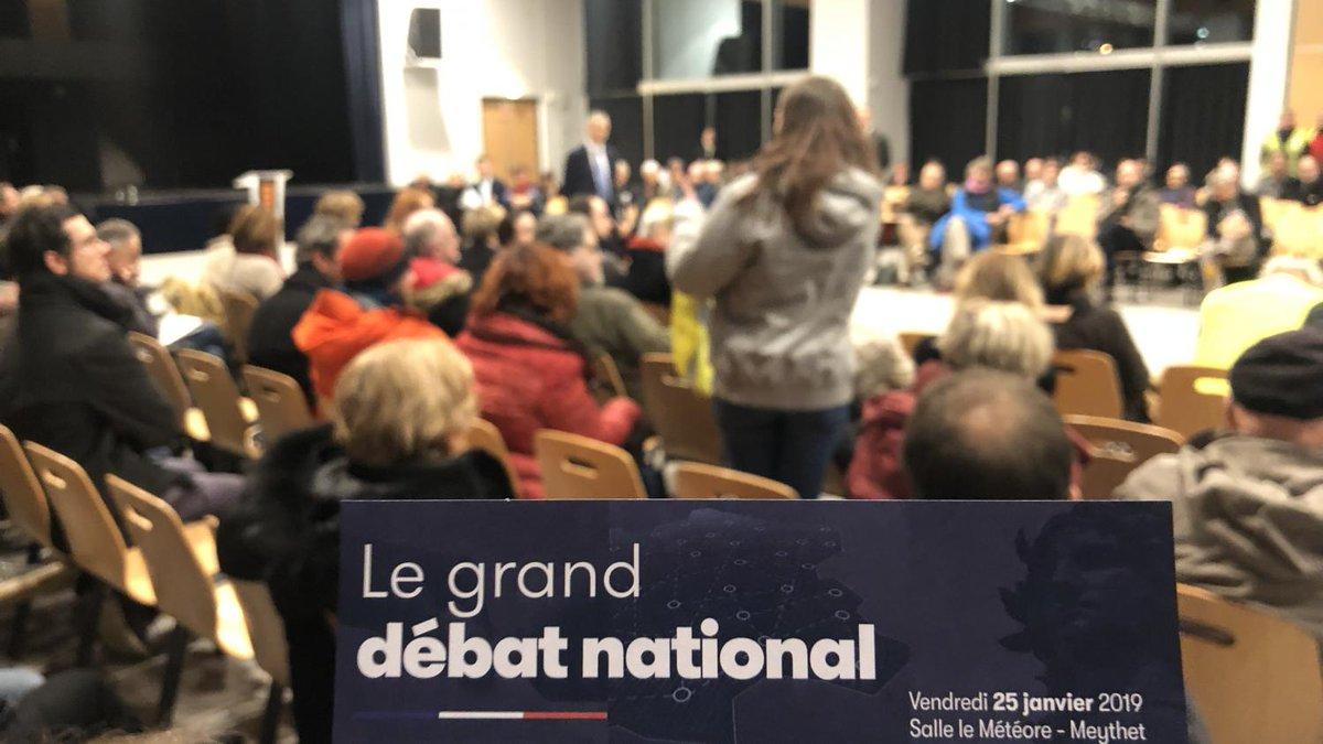Grand débat national: de plus en plus de Français savent en quoi il consiste mais de moins en moins comptent y participer, selon un sondage  https://www.francetvinfo.fr/economie/transports/gilets-jaunes/grand-debat-national-de-plus-en-plus-de-francais-savent-en-quoi-il-consiste-mais-de-moins-en-moins-comptent-y-participer-selon-un-sondage_3179807.html…