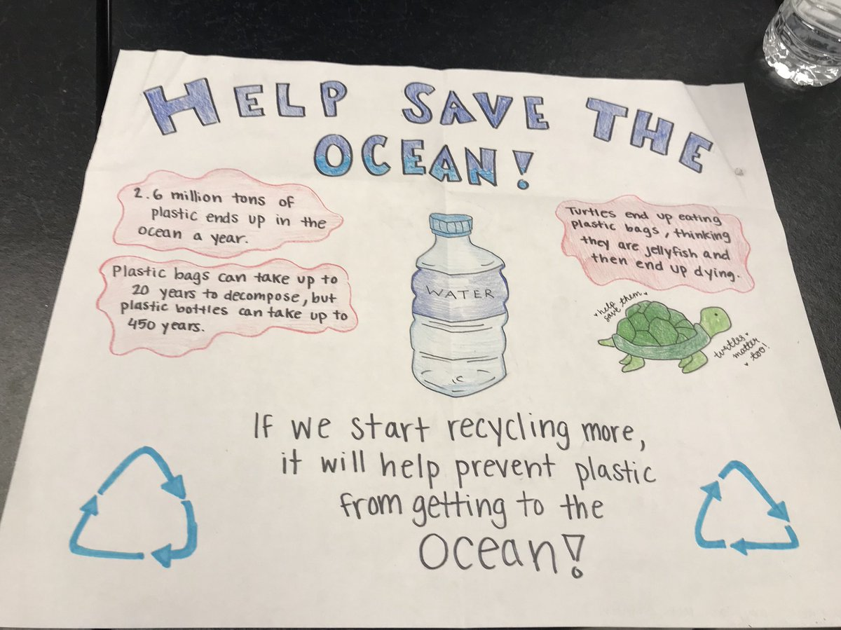 WMS 8th graders develop a plan to help others understand that plastic pollution in the ocean is a problem affecting us all <a target='_blank' href='http://search.twitter.com/search?q=lovePBL'><a target='_blank' href='https://twitter.com/hashtag/lovePBL?src=hash'>#lovePBL</a></a> <a target='_blank' href='http://search.twitter.com/search?q=stopusingstraws'><a target='_blank' href='https://twitter.com/hashtag/stopusingstraws?src=hash'>#stopusingstraws</a></a> <a target='_blank' href='http://twitter.com/WMS_WolfPack'>@WMS_WolfPack</a> <a target='_blank' href='http://twitter.com/APSscience'>@APSscience</a> <a target='_blank' href='http://twitter.com/BoykinBryan'>@BoykinBryan</a> <a target='_blank' href='https://t.co/wNdNbLDTmd'>https://t.co/wNdNbLDTmd</a>