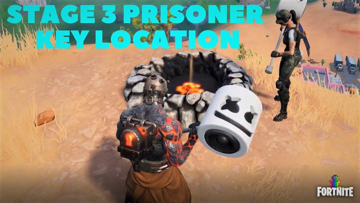 Fortnite Battle Royale Prisoner Skin Stage 3