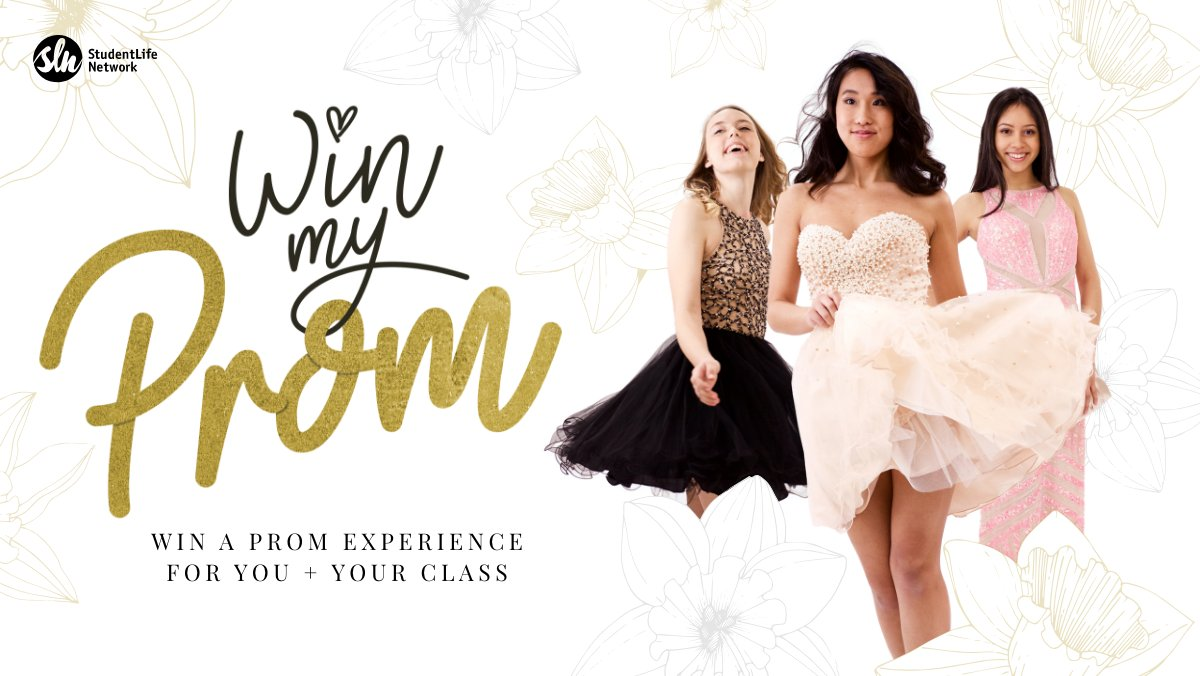 A chance to set up your entire class with free prom tickets. Enter Win My Prom here winmyprom.com