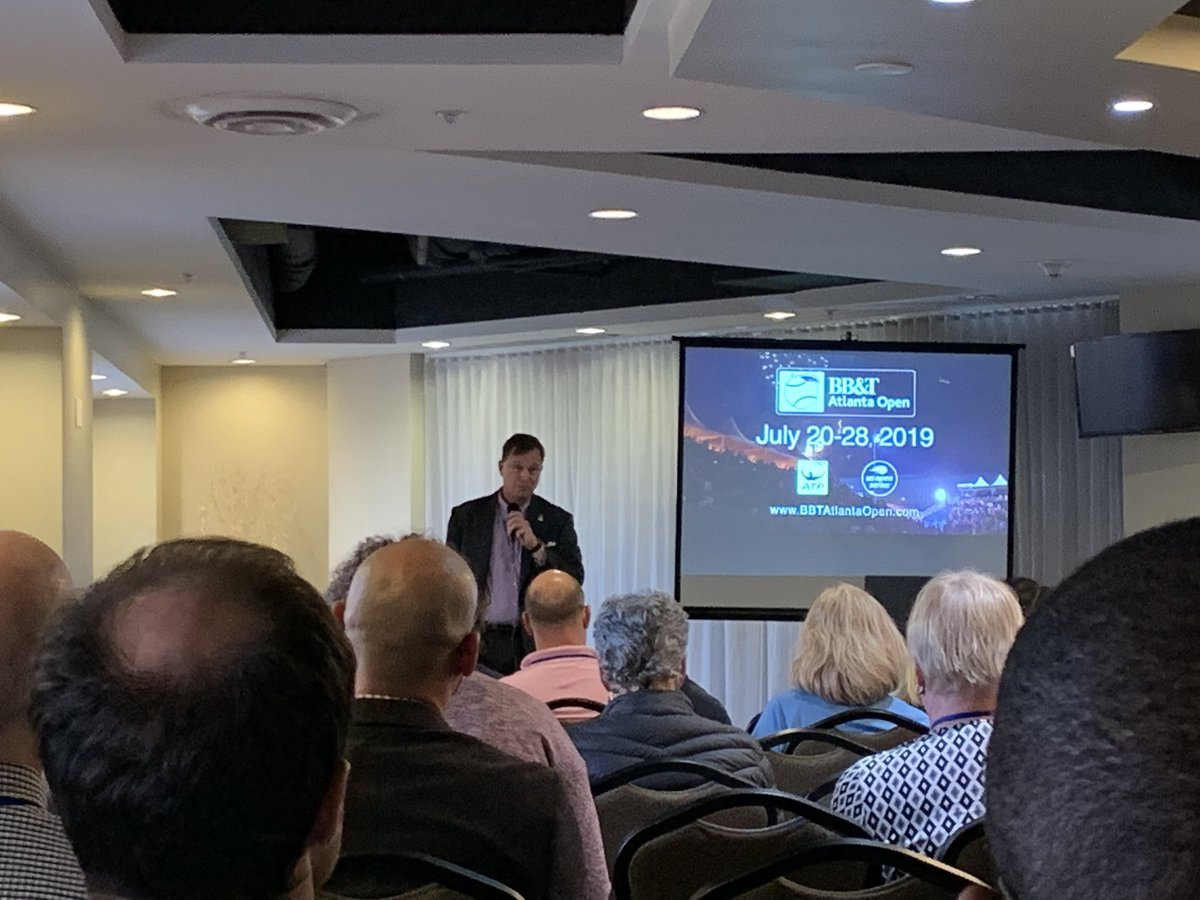 Listening to Eddie Gonzalez from @BBTatlantaopen! Thank you for coming to @cosmaweb #COSMA2019! #ATL