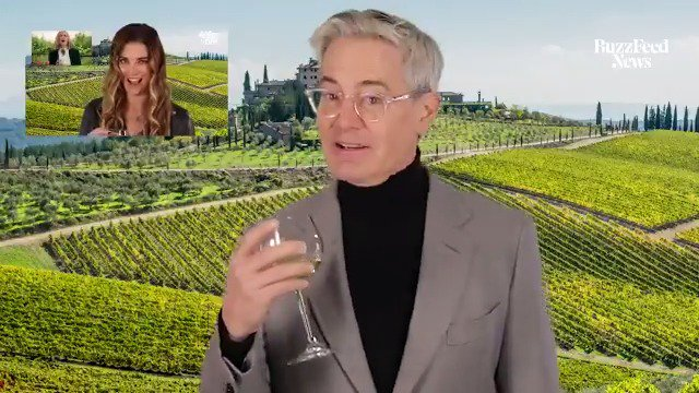 """.@Kyle_MacLachlan loves wine AND Catherine O'Hara, so we present to you… """"Schitt's Peak"""""""