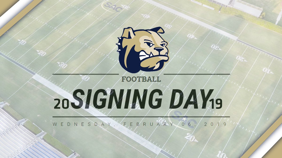 .@WingateFootball has signed 53 student-athletes for the 2019 season!   STORY | http://bit.ly/WUFB2019NSD  #OneDog #WUFB #NSD2019