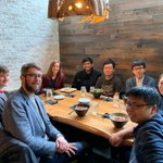 Image for the Tweet beginning: Nice grad student noodle lunch