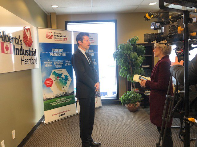 """""""One of the nice things about the petrochemicals sector is that it's counter-cyclical to the commodity production of oil and gas resources,"""" says Mark Plamondon, Executive Director, chatting today with @kendraslugoski. #abenergy #petrochemicals #investment #industrialheartland"""