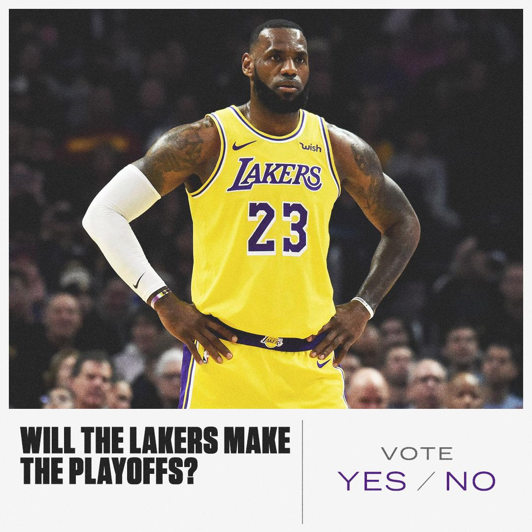 The Anthony Davis trade never happened, but can the Lakers still make the postseason? https://t.co/Y9t2CuP6L3