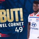 49' GOOOOOAAALLLLLLL !! Bon dédoublement sur le côté gauche, Mendy centre pour la reprise de Maxwel Cornet à bout portant !!  #EAGOL 0-2