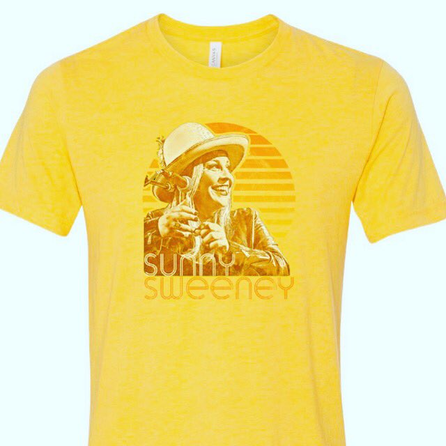 New shirt alert. SUNNY SUMMERTIME SHIRT. get yours on my store at http://www.sunnysweeney.com