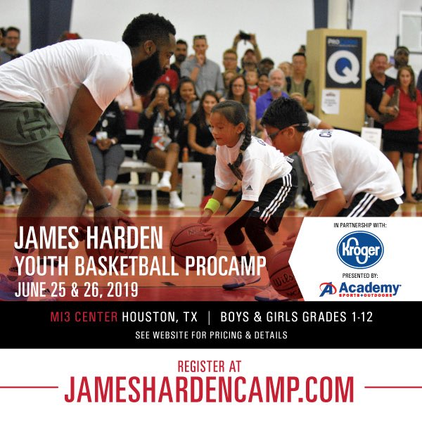 Registration for my Youth 🏀 @ProCamps in partnership with @Kroger & presented by @Academy is now open! Click 👇 for details and to sign up. https://cards.twitter.com/cards/2ifhiz/6rh6p…