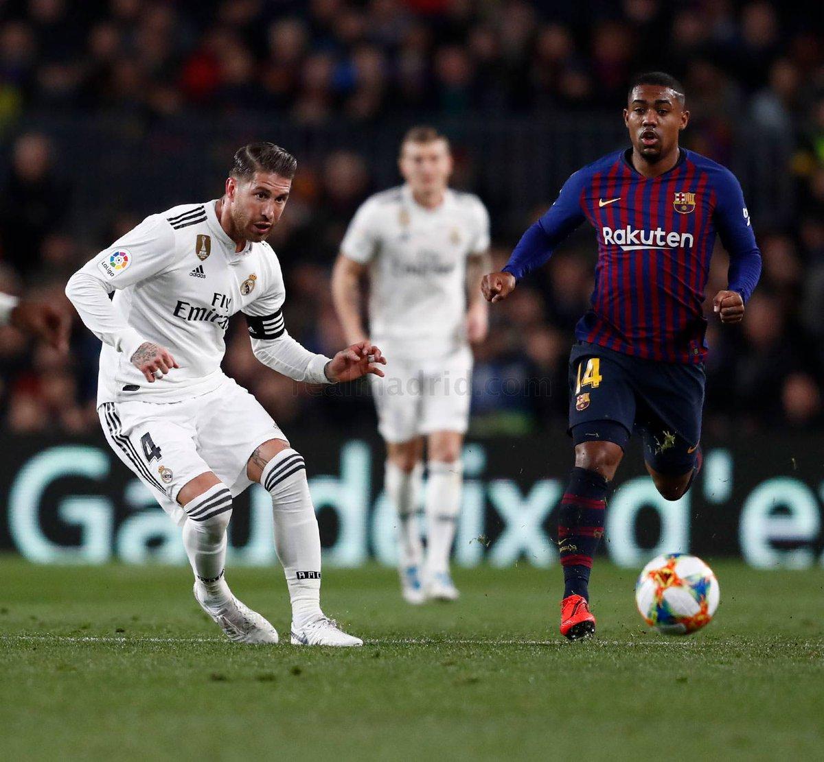 @SergioRamos: «Partido muy serio del equipo. El Bernabéu será clave. Vosotros seréis clave. #HalaMadrid». @realmadrid #RealMadrid #RMCopa #RMClásico #BarcelonaRealMadrid 1-1 #SergioRamos #HalaMadridYNadaMás #MadridismoUnido #APorLa20