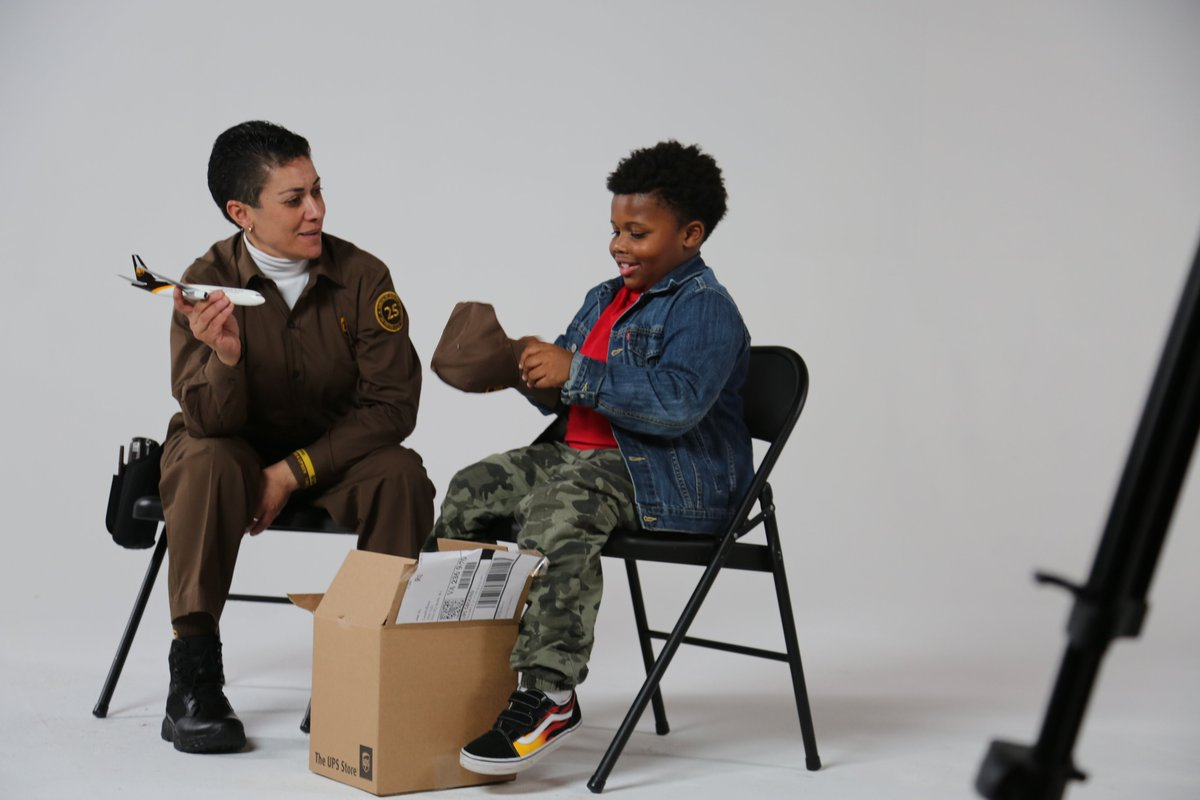 Giving a #UPSerShoutOut to @NortheastUPSers Jenny Rosado. Jenny was recently interviewed by some cute little fans. Check out Our Stories to read how it went and for a link to the video: https://ourstories.ups.com/kids-meet-ups-driver/… #TogetherWeAreUPS