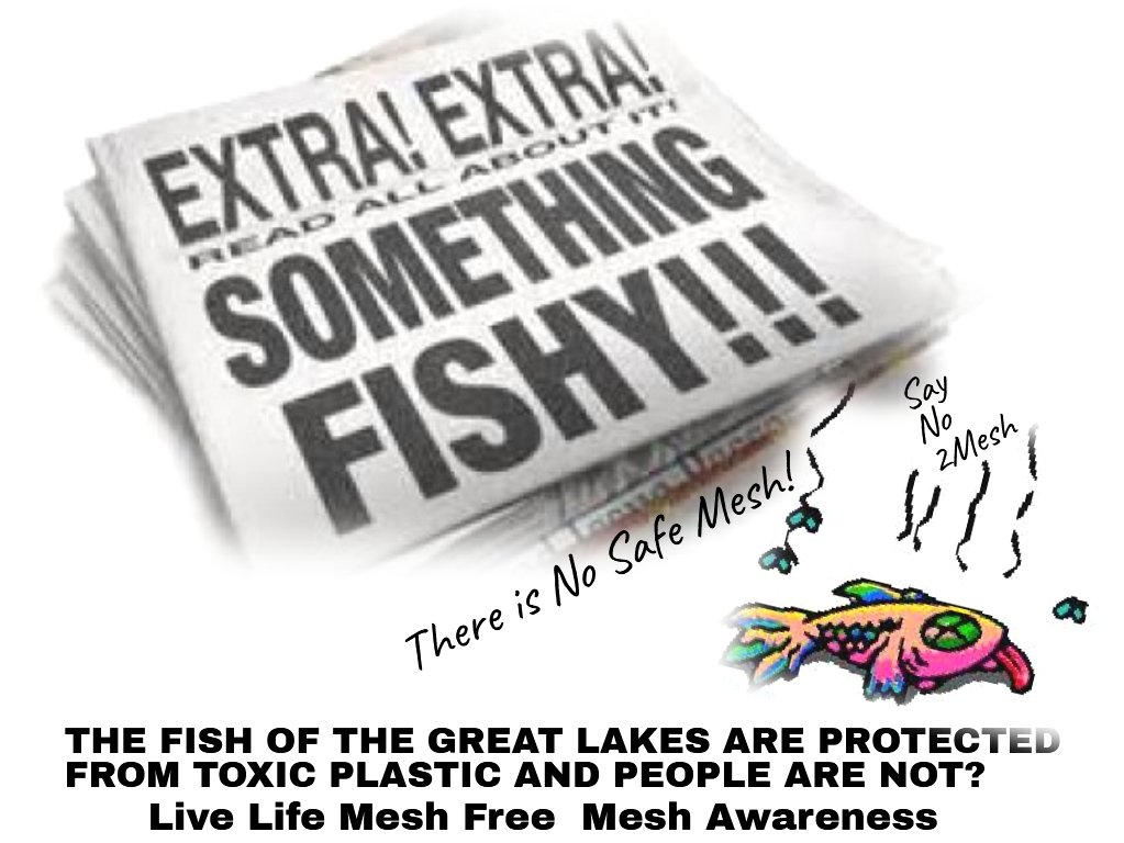 The beginning of wisdom is calling things by their right name #SurgicalMesh is a piece of #Toxic #Plastic and no matter what it #Biochemically treated with it will always be a piece of Toxic Plastic Poison! @SGottliebFDA #GreenNewDeal #GlobalGagRule #HealthForAll #BanAllMesh