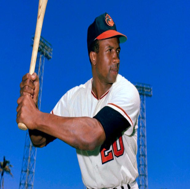 One of my childhood heroes has died- RIP Frank Robinson. @Orioles #20 #ALMVP #NLMVP #WSMVP #HOF.  A great man and a great ball player.