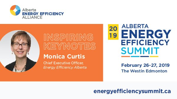 Back by popular demand, @EfficiencyAB CEO #MonicaCurtis will return to #EESummit2019 as a keynote speaker! Learn more about how her leadership has impacted #energyefficiency in #Alberta & REGISTER TODAY! https://energyefficiencysummit.ca/keynote-speakers/monica-curtis/… #summitkeynote #eventkeynote #keynotepresentation