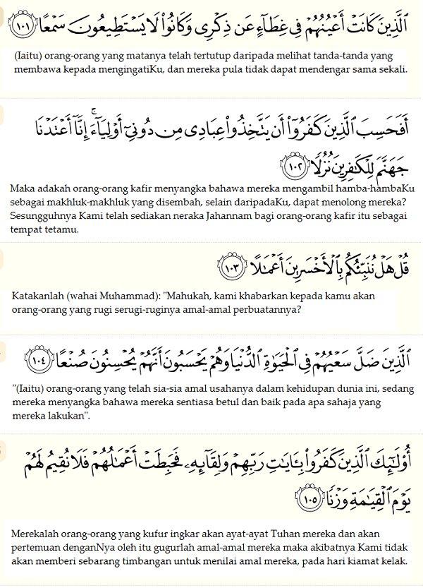 Quran Al Kahfi 1 10 Gambar Islami