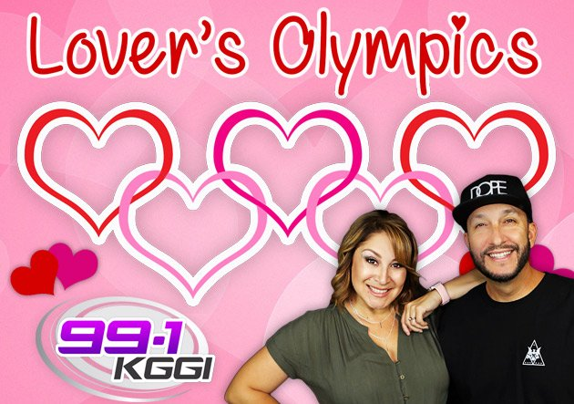 To Participate In The 2nd Annual 991 KGGI Lovers Olympics With TherealODM EvelynErives LoversOlympics ODMandEvelynpictwitter PlYrWOT8FD