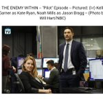 Image for the Tweet beginning: The promos (from SpoilerTV) for
