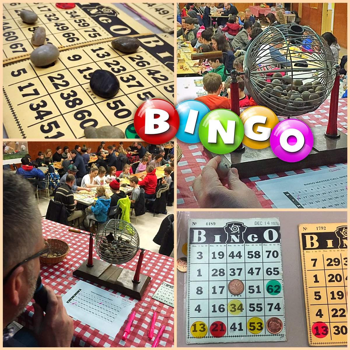 What an awesome night at Family BINGO! Thanks to all involved in making this happen, especially Sarah, Sean & Tessa! & to all who helped put it away! #BINGOcardsfrom1974 amazing!