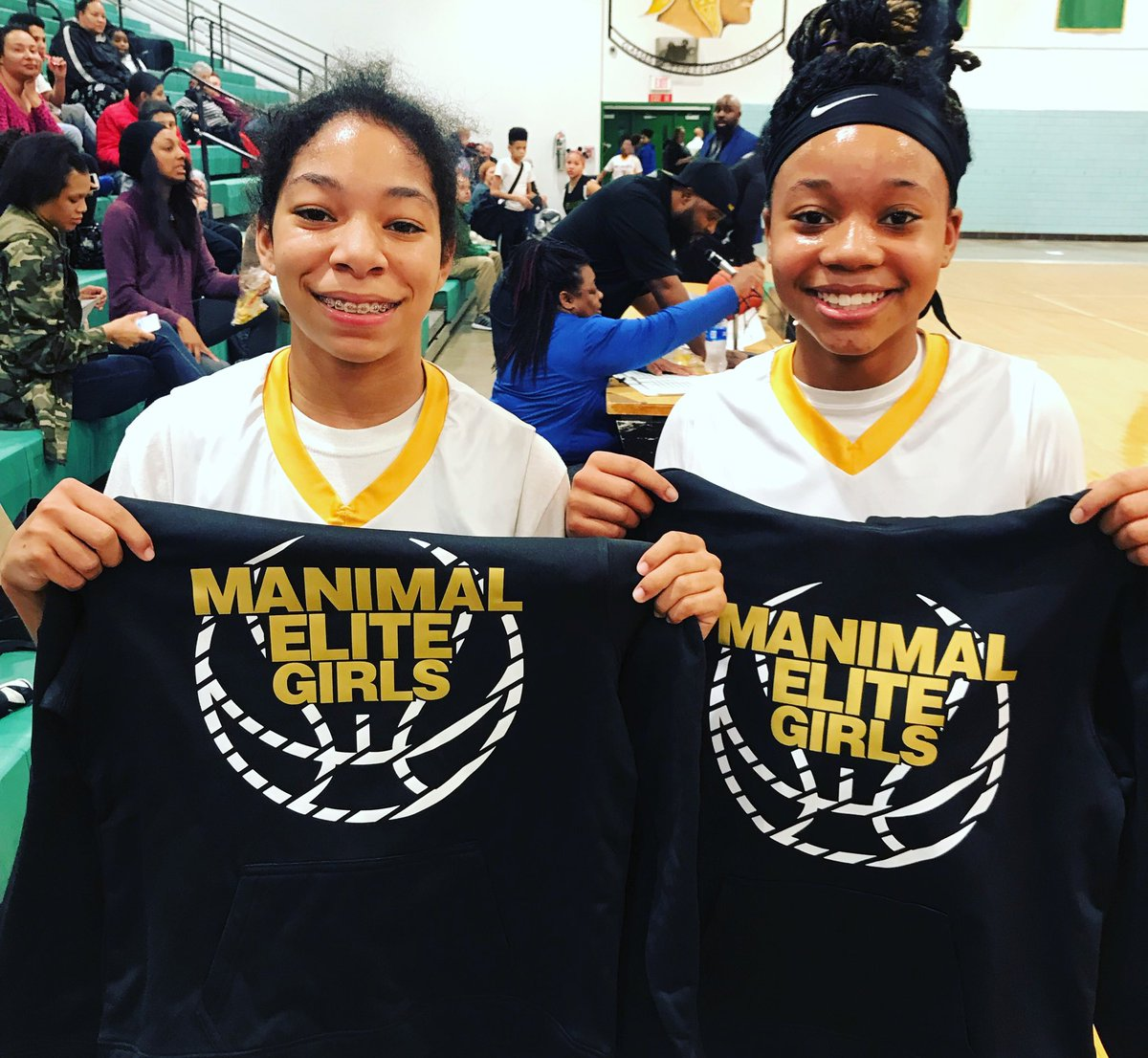 Dynamic Duo  Maree Gober & A'Niya Haskins. These  two will be Co-Captains of the @manimal_elite_girls 2024 group #UnleashtheManimal #OurGirlsGrind  #kennethfaried #ManimalMode #TakingOurCityBack #adidas #adidas3stripelife  #SummerGonnabeLit🔥 #EarnednotGiven