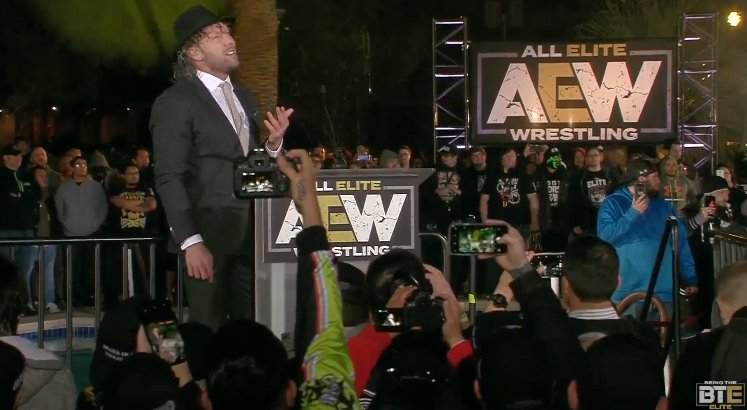 Kenny Omega Officially Signs With AEW