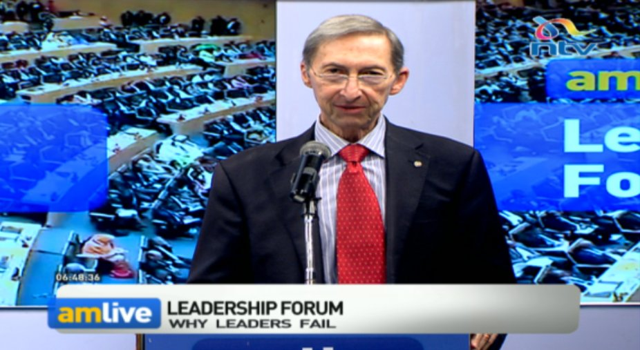 Why do leaders fail?: Because of not having good relationships be it upwards, with peers or downwards. - Mike Eldon #AMLiveNTV @debarlinea