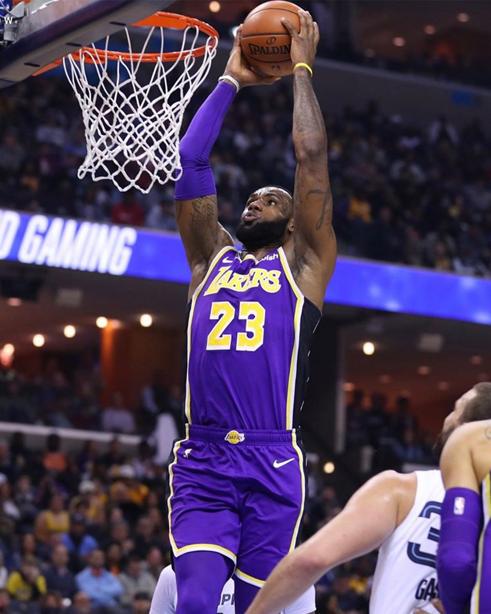 pretty nice a3cbe 5df86 LeBron '🐐' James Lakers Nike x NBA Statement Edition Jersey ...