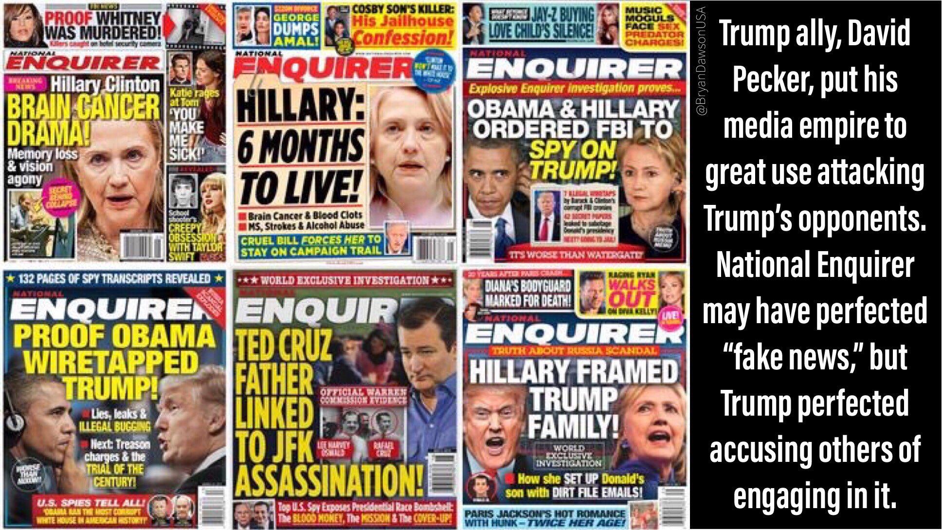 Looks like @JeffBezos has Trump by the Pecker  #PeckerProblem https://www.cnn.com/2019/02/07/media/jeff-bezos-ami-blackmail/index.html