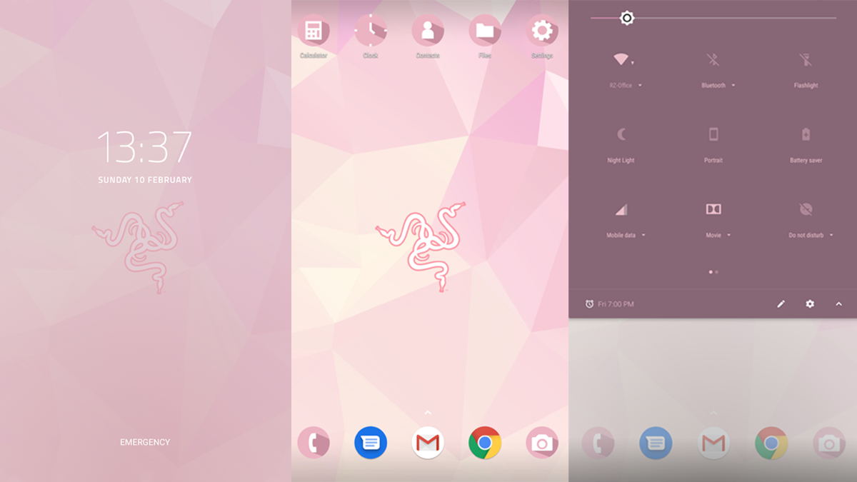 Transform your Razer Phone 2 in time for the season of love, complete with soft tones in glorious pink. Now on Razer Theme Store. <br>http://pic.twitter.com/ysTJeTLecP