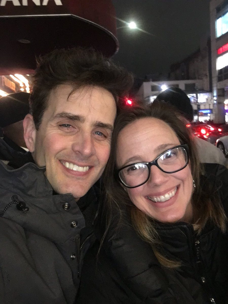 Happy place 💙 @joeymcintyre @WaitressMusical