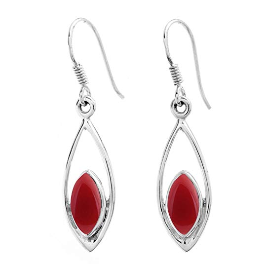 0458f11b3 ... Silver Plated Dangle Earrings Made By Sterling Silver Jewelry Online at  http://Amazon.com More Here: https://amzn.to/2Gu8igw  #silverjewelrymanufacturer ...