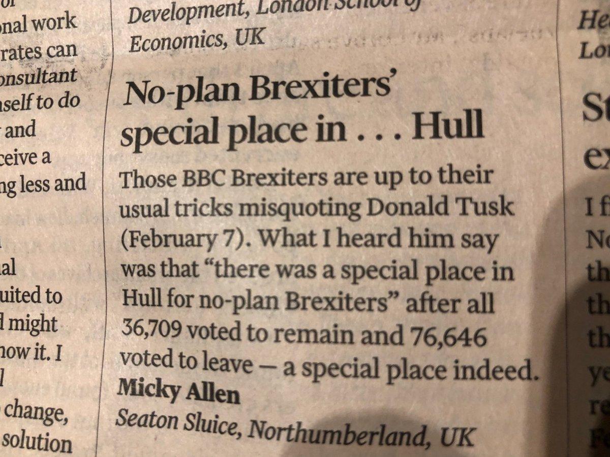 Letter of the week @FT #BrexitVote