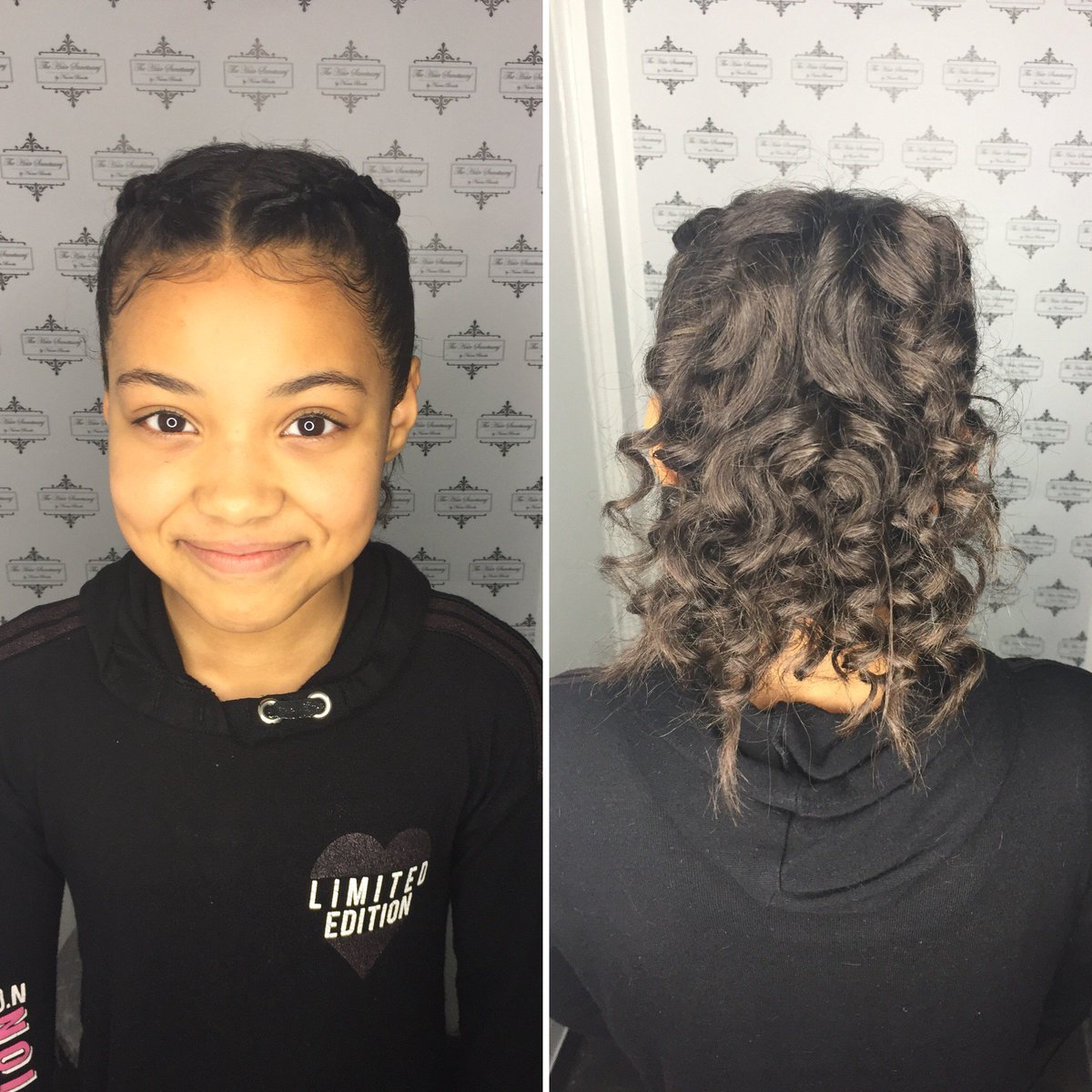 We've got the kids covered too 😉 You book children in for the following  *Trim  *Treatment *Braids *Wash & Style  *Texture release (age 10+)   We don't not provide chemical services for children  . . . . #hair #haircare #children #girls #boys #braids #trim #treatment #afrohair