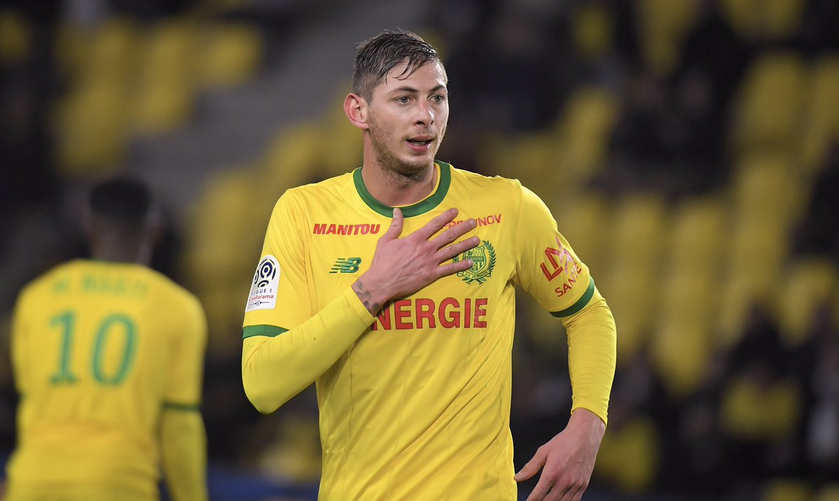 6db32a0a9fe9 The thoughts of everyone at the Club are with the friends and family of  Emiliano Sala
