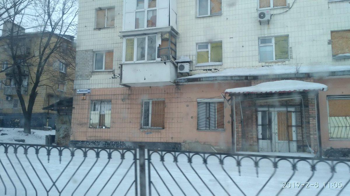 Путиловка резко контрастирует с остальным Донецком