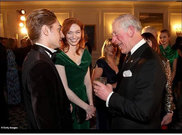 Eleanor Tomlinson attended Prince Trust Fundraising event with Prince Charles.  #Poldark #EleanorTomlinson #sheIstheQueen  Source: https://www.instagram.com/p/BtmvB1Wnf7r/?utm_source=ig_share_sheet&igshid=4y3pmlke67xq…