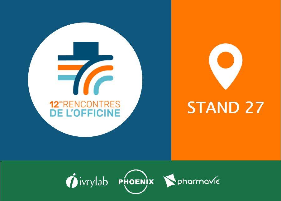 [SAVE THE DATE] Nos équipes vous accueillent aux #RencOff du 9 au 11 février. Rendez-vous au Palais des Congrès de #Paris, sur le stand 27 ! @PHOENIXPharmaFr @RevuePharma https://t.co/H0LCefUtAD