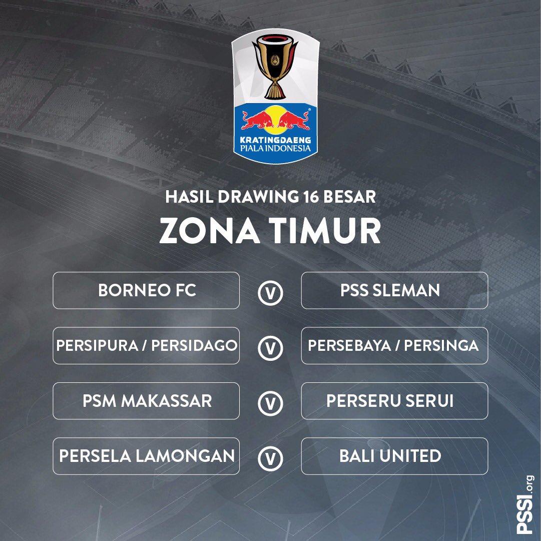 Borneo FC bertemu PSS Sleman di 16 besar #PialaIndonesia 2019 dan waktunya ga tau kapan tergantung PSSI nya aja suka-suka dia (((:
