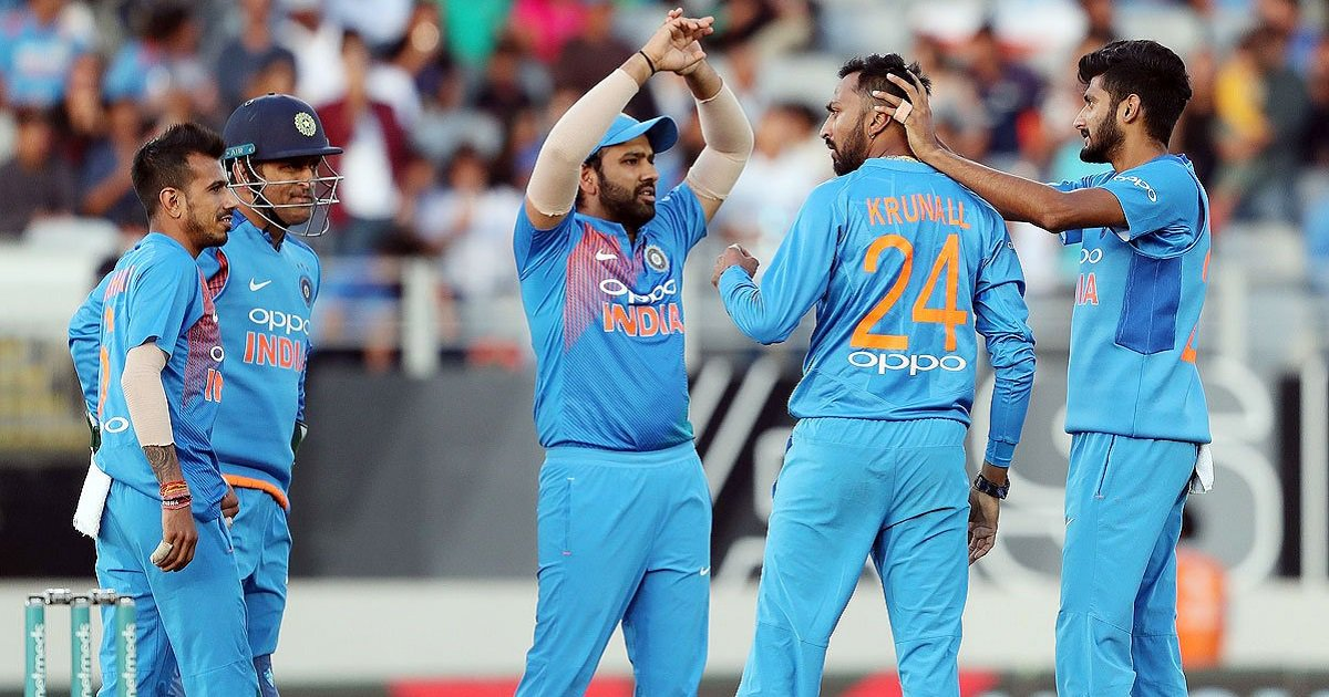 #INDvNZ #2ndT20I   Improved #TeamIndia restrict @BLACKCAPS to 158/8🏏  Innings Report ✍️ https://t.co/EEsQ3qEUXe