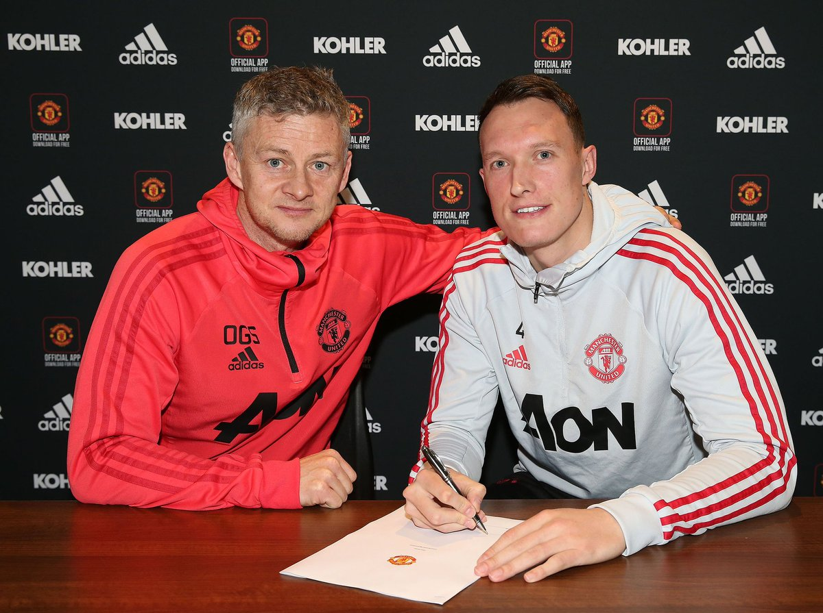 Jones prolonge avec les Red Devils (Officiel) — Man Utd