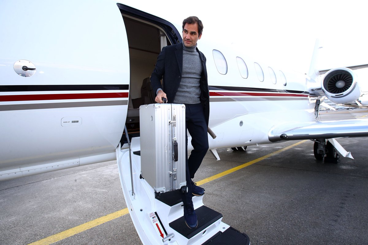 Look who's arrived in Geneva to launch the countdown to #LaverCup 2019.