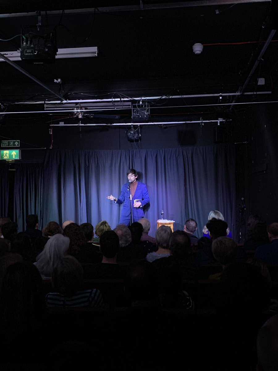 RT @OTBcomedy Last night was a delight! We're back in Surbiton on 7th March with @SeanMcLoughlin headlining! £6 tickets and already running low! https://t.co/uiQLaaoTZx