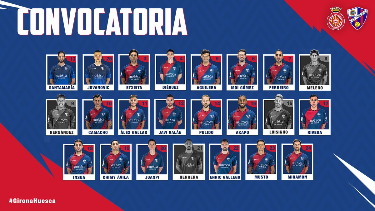 Dy47jo7X0AAiYBU Francisco convoca a 19 jugadores para viajar a Girona - Comunio-Biwenger