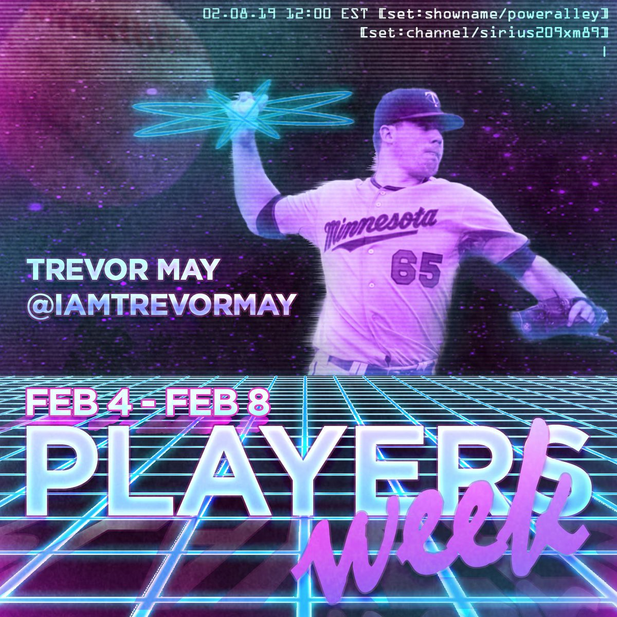 feff0114bf2 PlayersWeek CONTINUES today on  MLBNetworkRadio! Hear  Twins RP ...