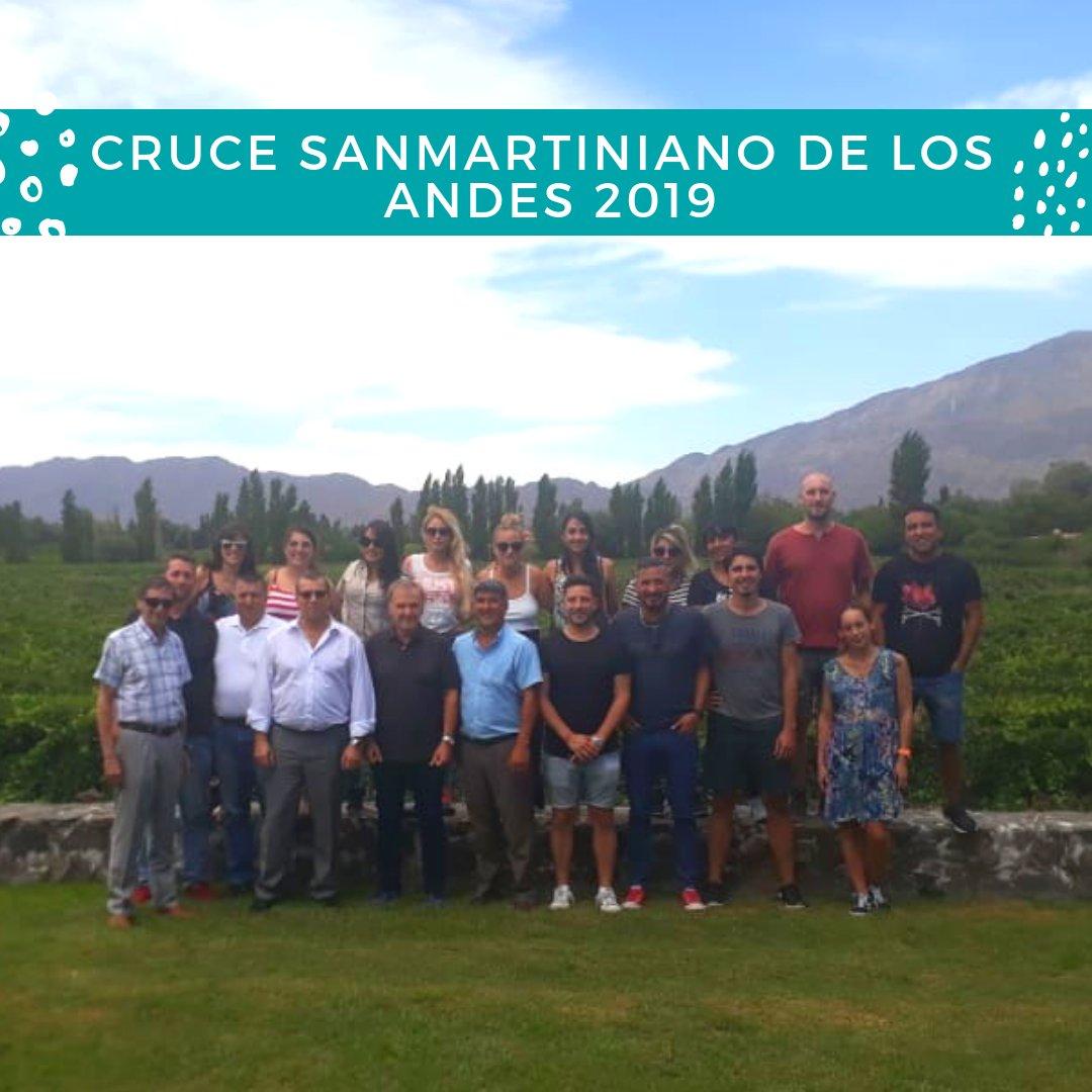"""Nos estamos preparando para vivir una experiencia de liderazgo única, el """"Cruce Sanmartiniano de la Cordillera de los Andes"""" junto a @redcame @INSTITUTO_ASEG @CamaraPlanD @Osdepym, @BazanJuan @jabereciartua"""